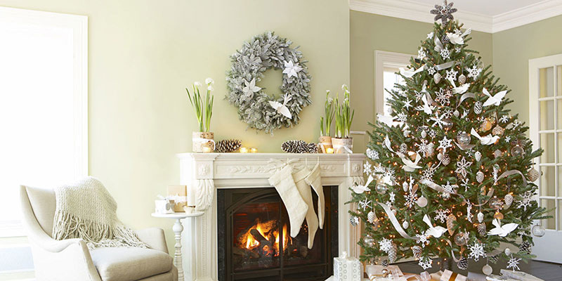 concept designs-interior solutions white christmas tree